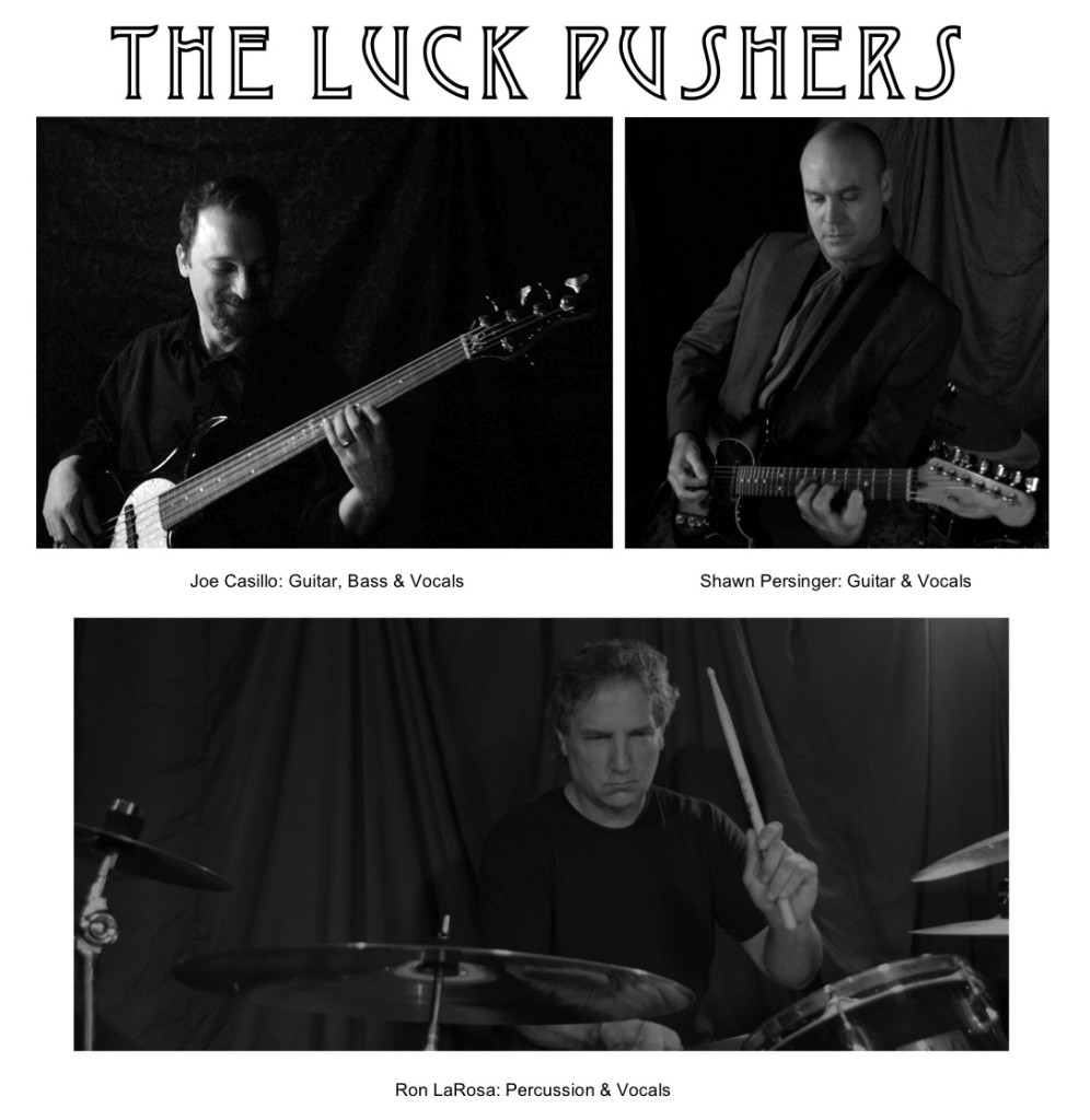 The Luck Pushers Promo Photo Ron